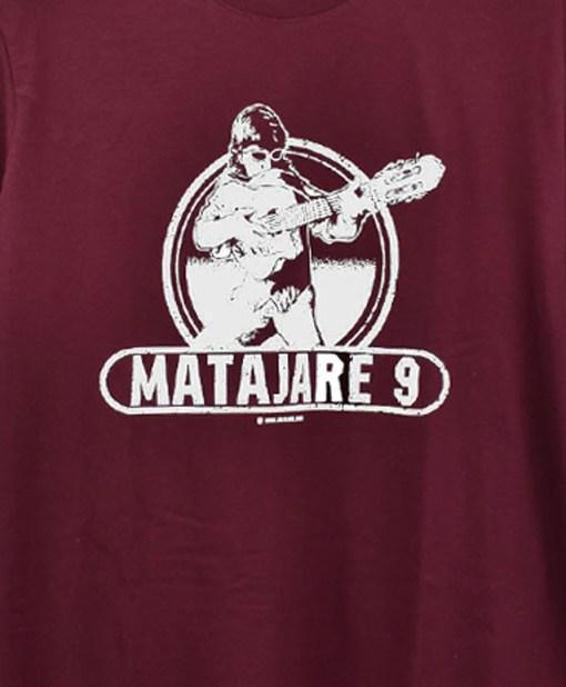 camiseta-hombre-migue-benitez-matajare-9-granate-detalle
