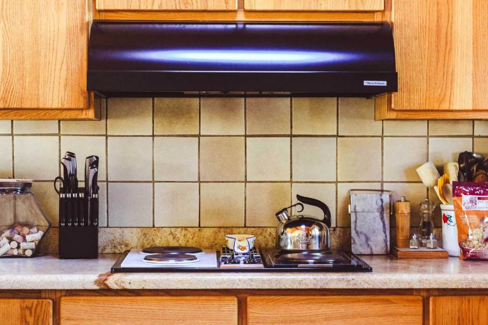 kitchen stove and accessories