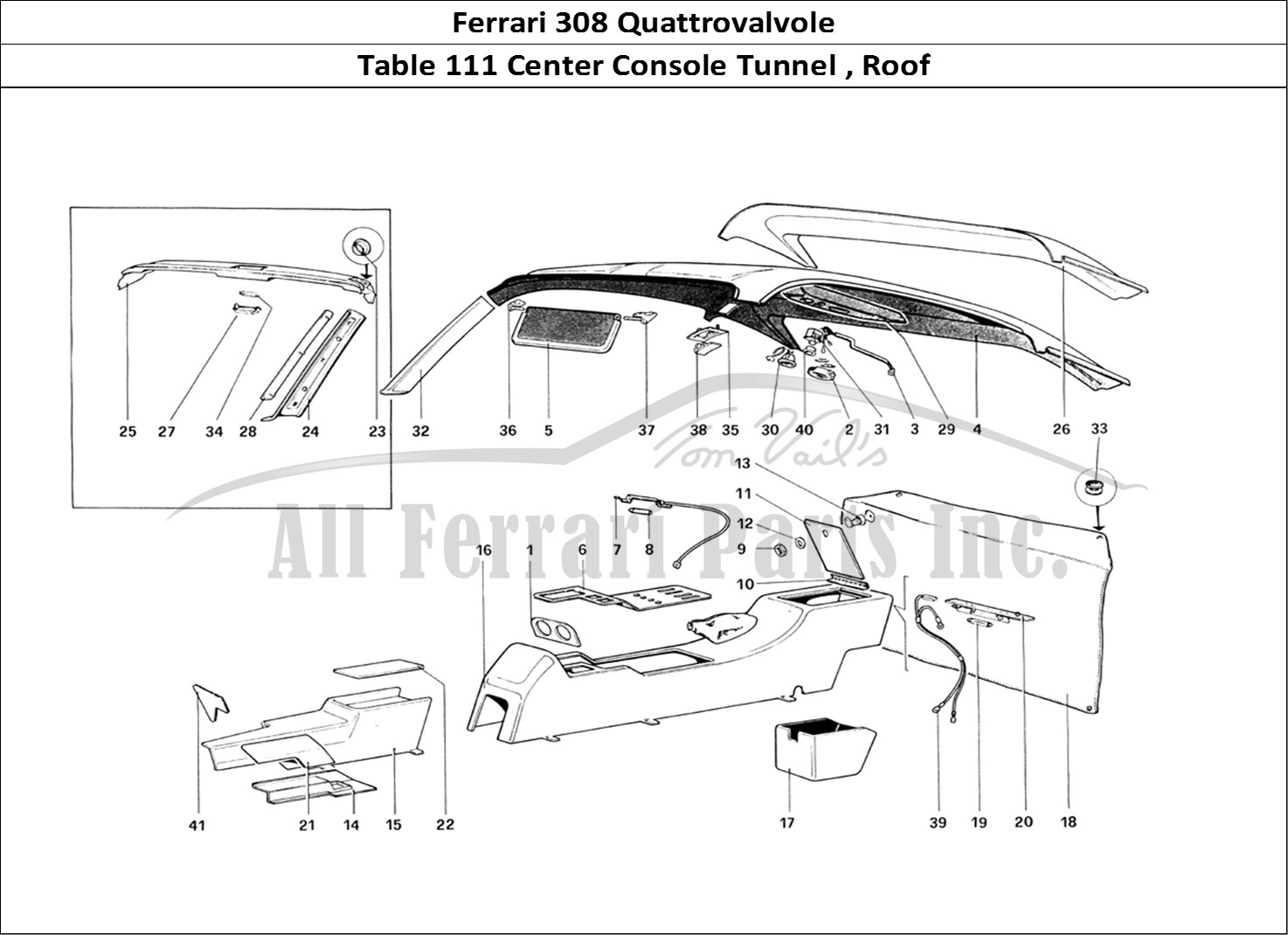 Buy Original Ferrari 308 Quattrovalvole 111 Center Console