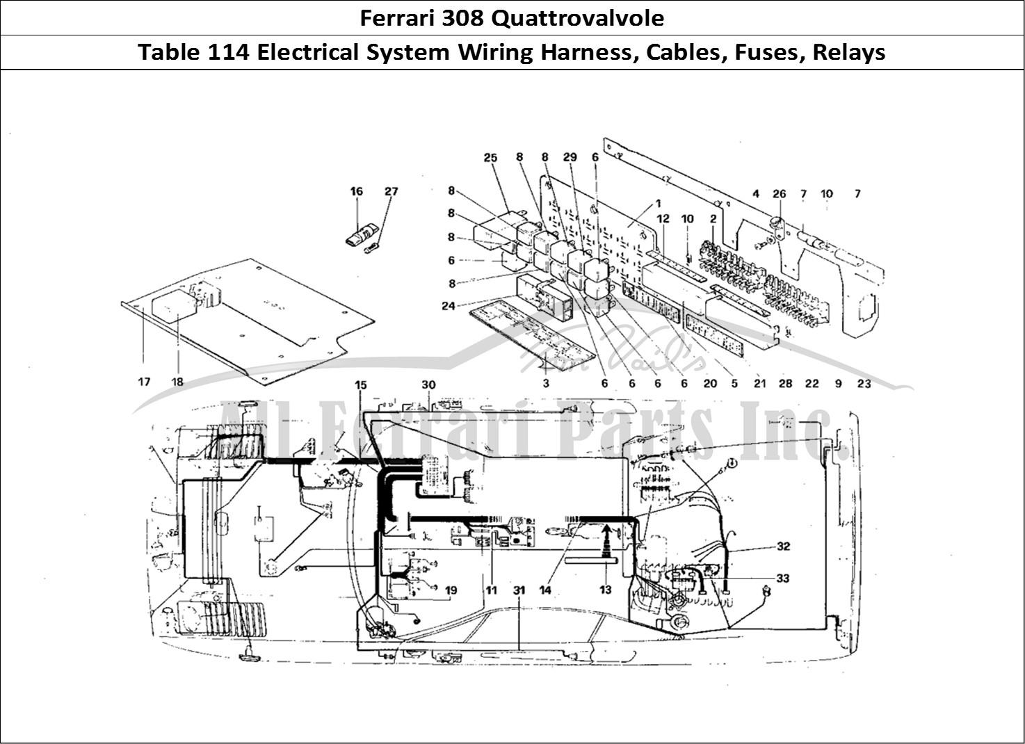 Buy Original Ferrari 308 Quattrovalvole 114 Electrical