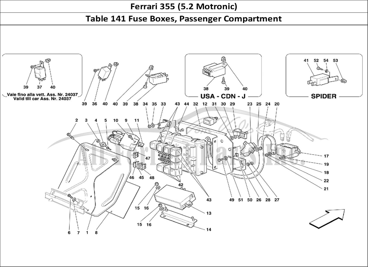 Buy Original Ferrari 355 5 2 Motronic 141 Fuse Boxes