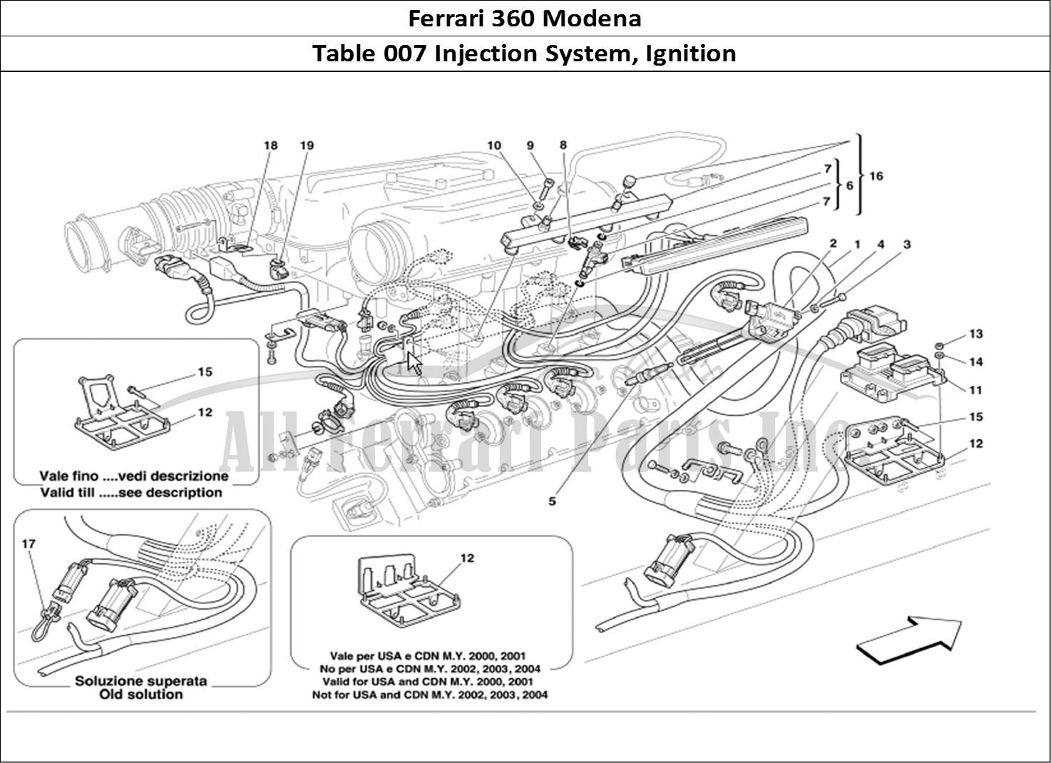Buy Original Ferrari 360 Modena 007 Injection System