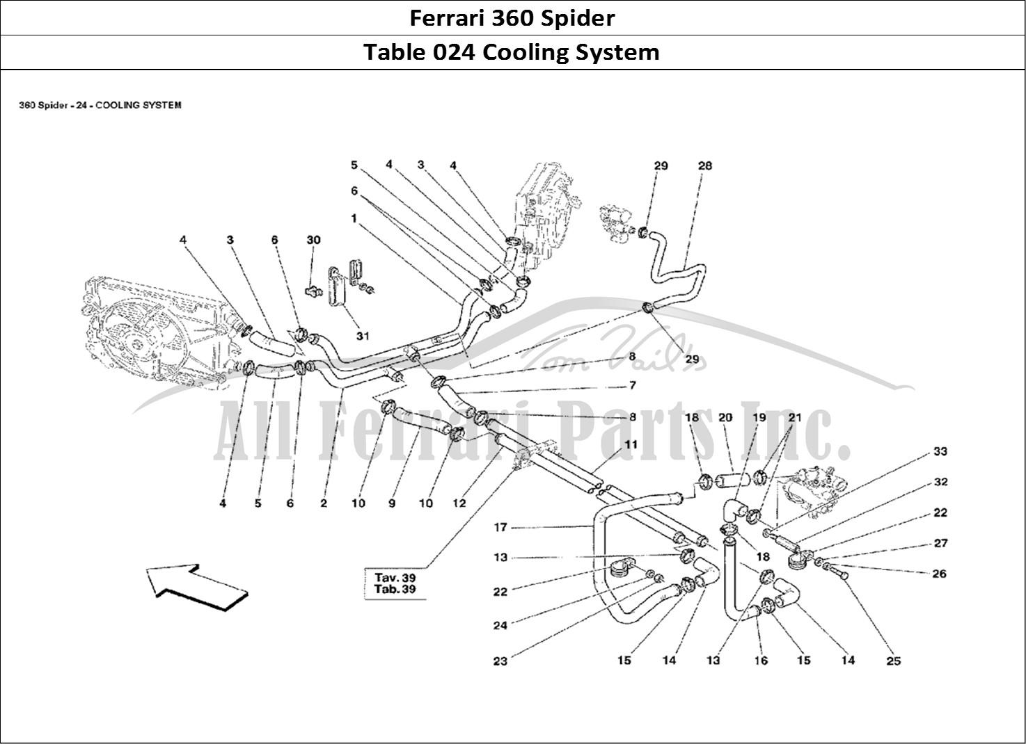 Buy Original Ferrari 360 Spider 024 Cooling System Ferrari