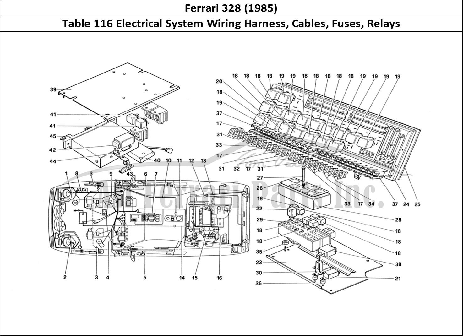 Buy Original Ferrari 328 116 Electrical System