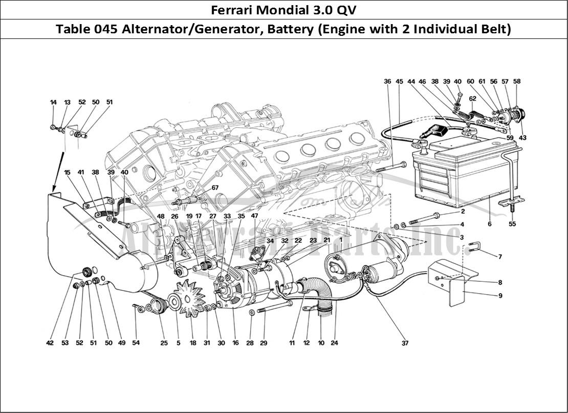 Buy Original Ferrari Mondial 3 0 Qv 045 Alternator