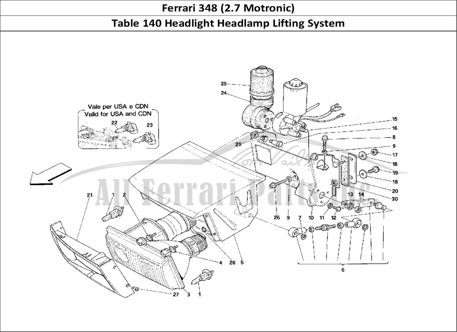 Buy Original Ferrari 348 2 7 Motronic 140 Headlight