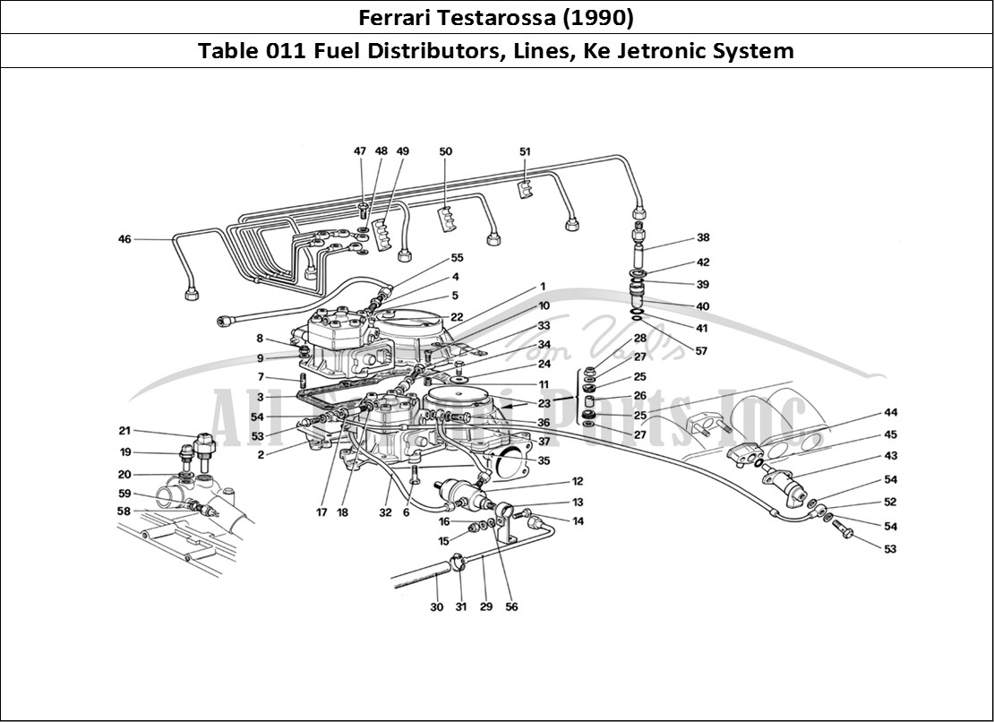 Buy Original Ferrari Testarossa 011 Fuel