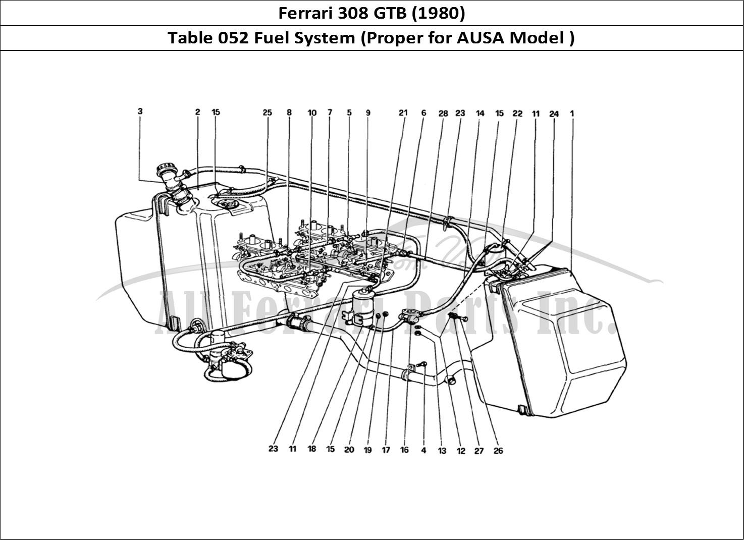 Buy Original Ferrari 308 Gtb 052 Fuel System