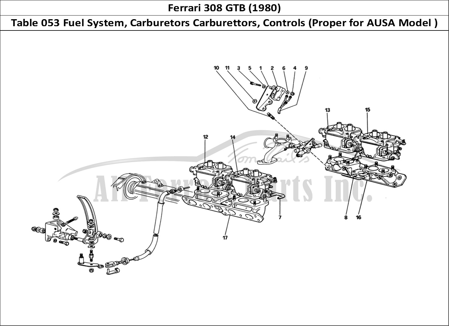 Buy Original Ferrari 308 Gtb 053 Fuel System