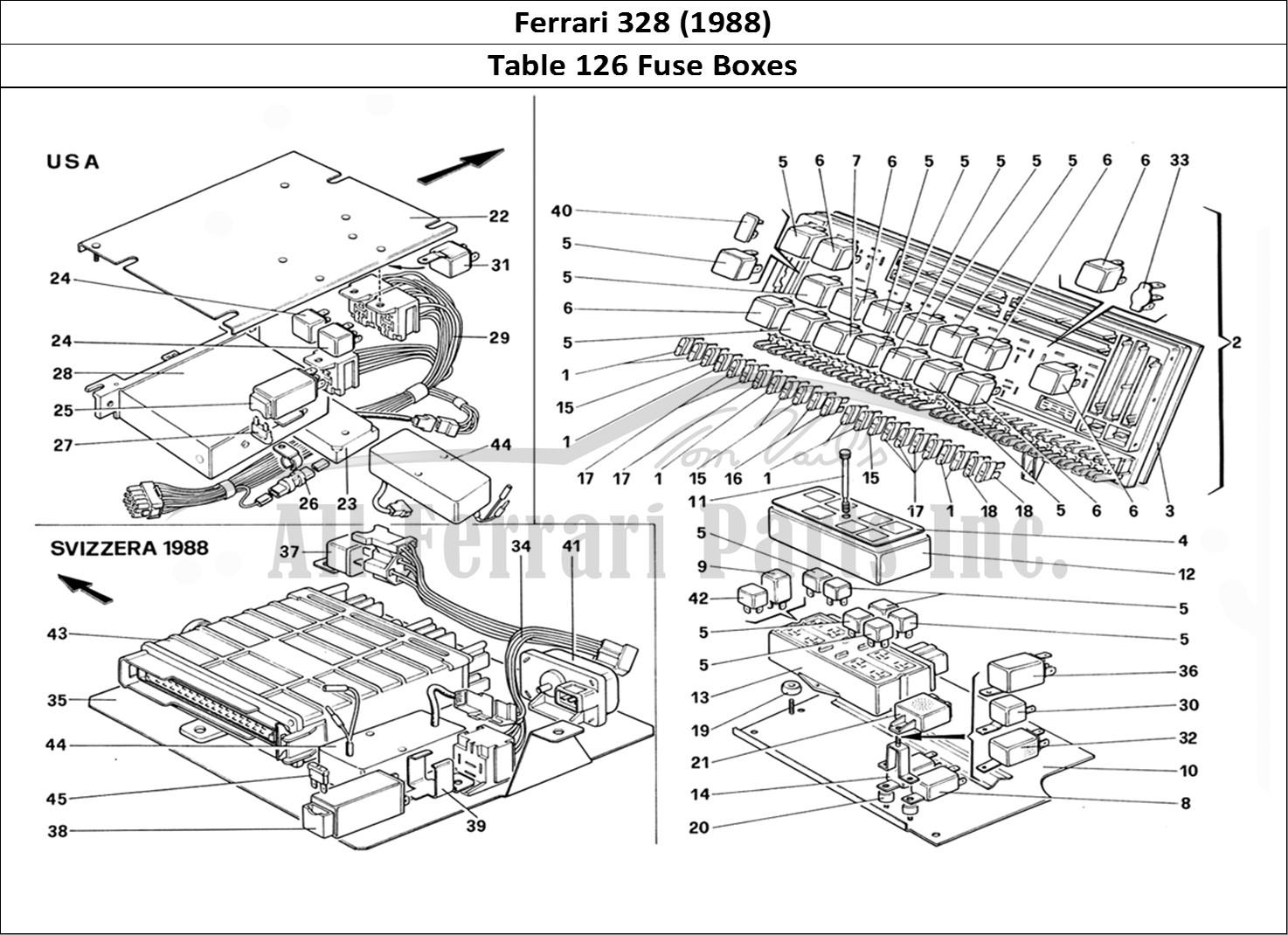 Buy Original Ferrari 328 126 Fuse Boxes Ferrari Parts Spares Accessories Online