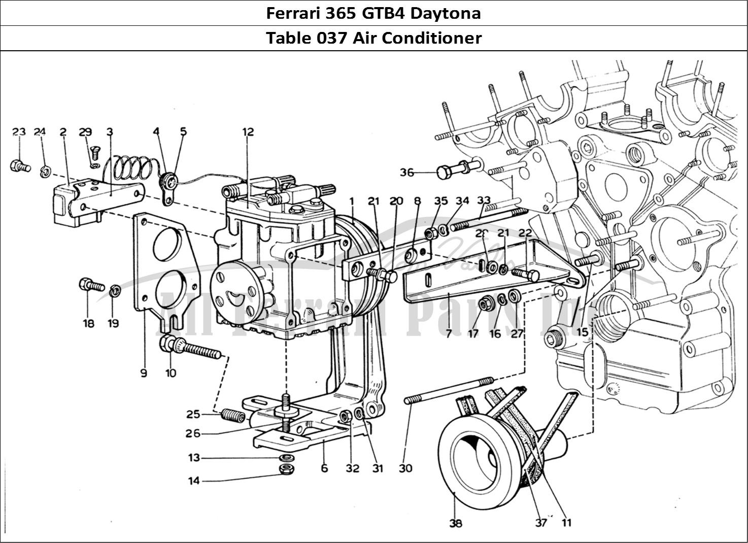 Buy Original Ferrari 365 Gtb4 Daytona 037 Air Conditioner