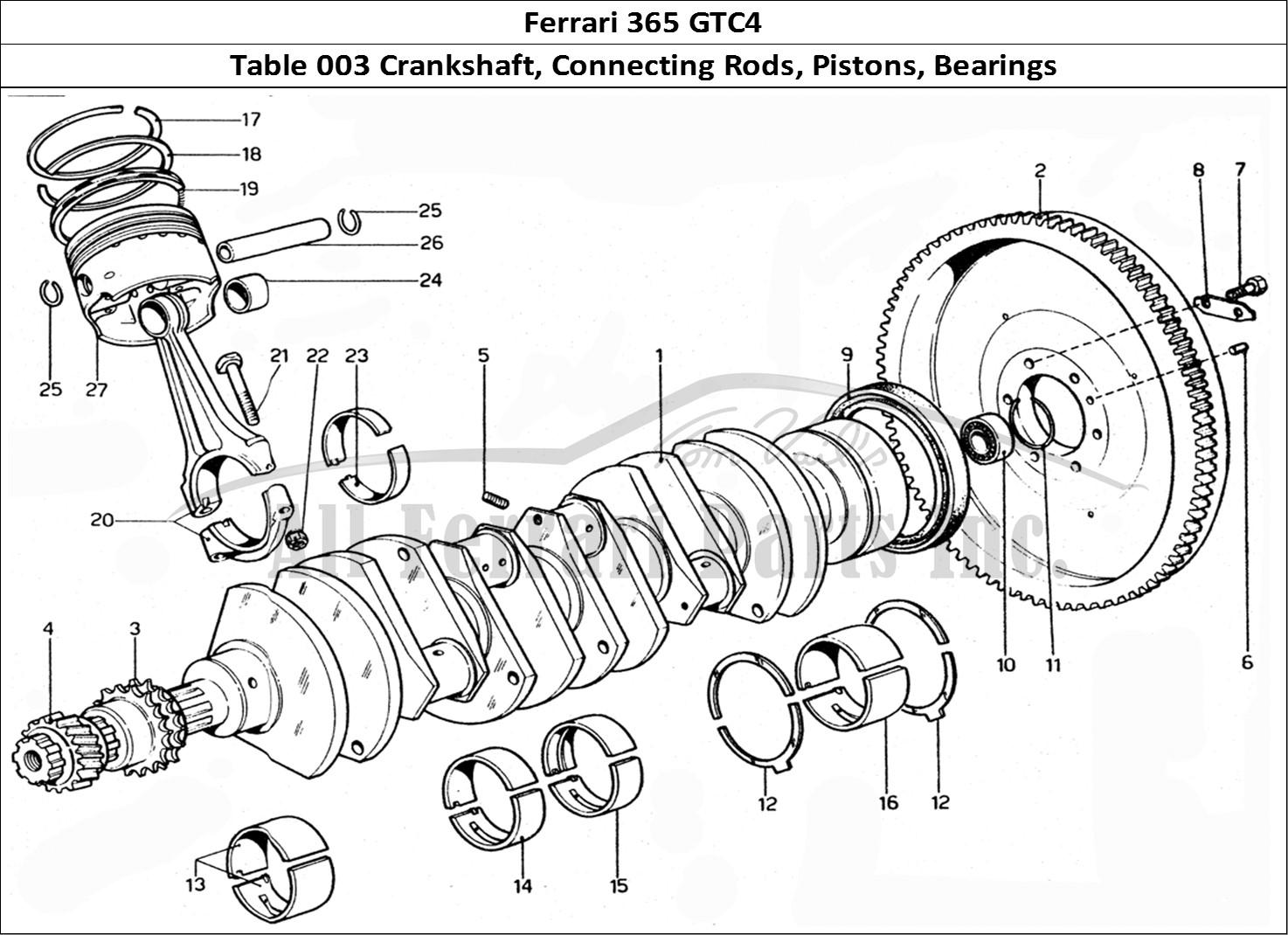 Buy Original Ferrari 365 Gtc4 003 Crankshaft Connecting