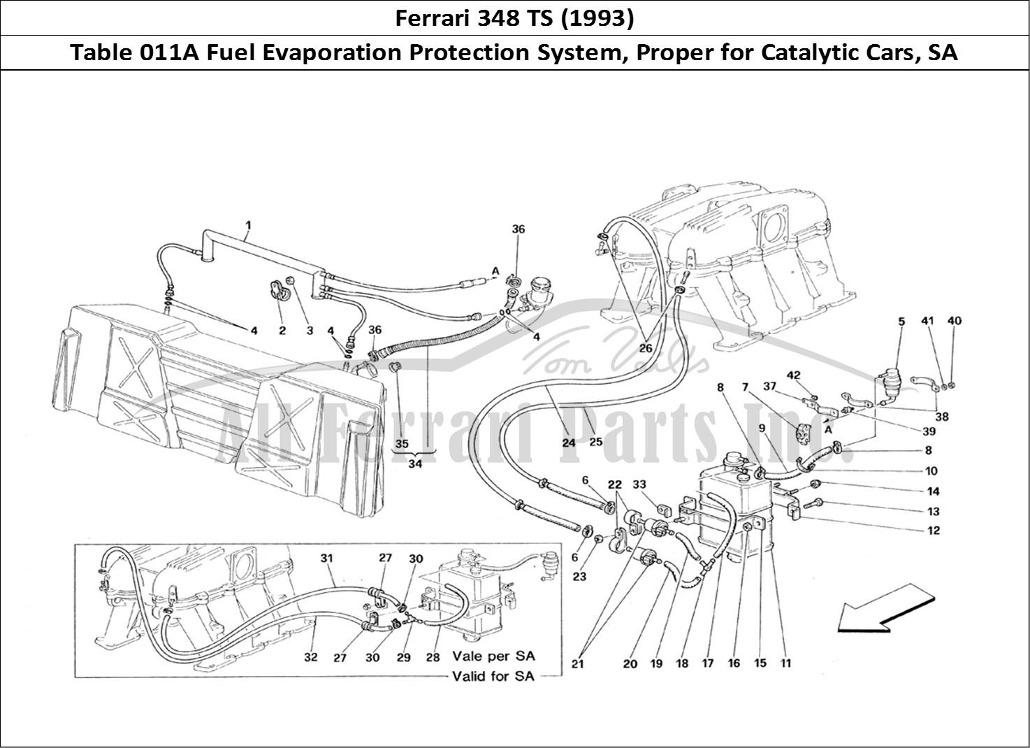 Buy Original Ferrari 348 Ts 011a Fuel Evaporation