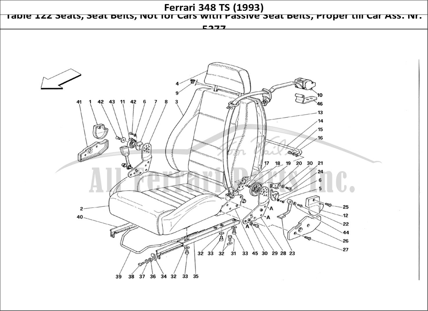 Buy Original Ferrari 348 Ts 122 Seats Seat Belts