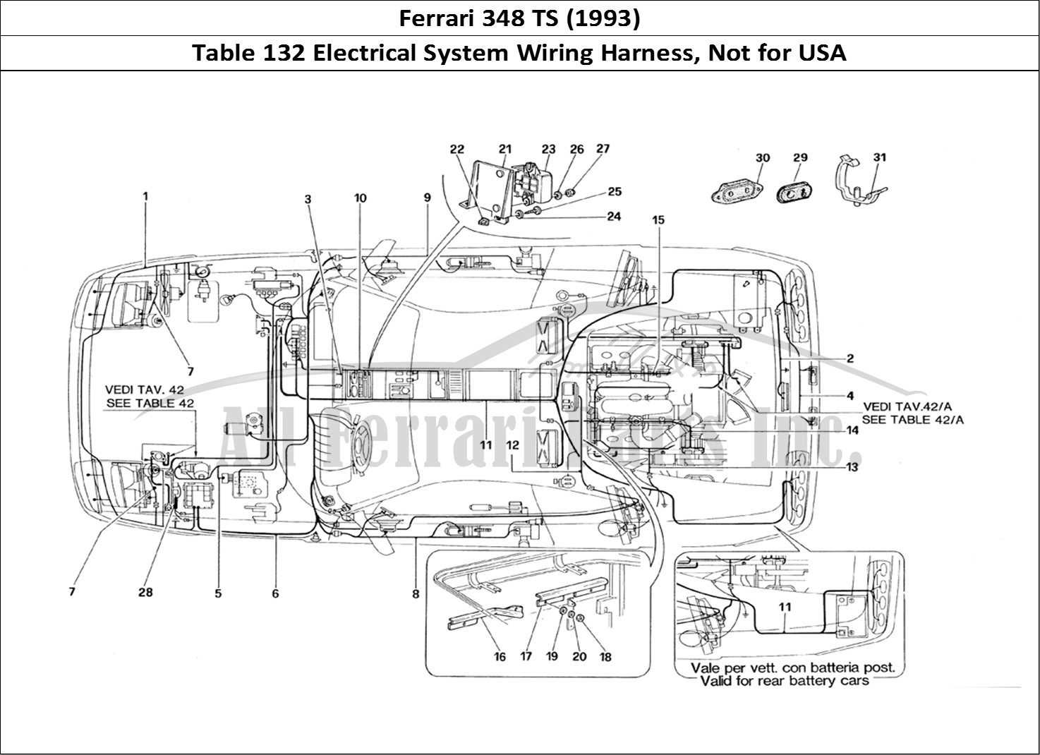 Buy Original Ferrari 348 Ts 132 Electrical System