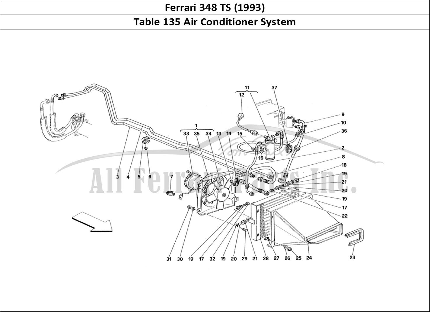 Buy Original Ferrari 348 Ts 135 Air Conditioner