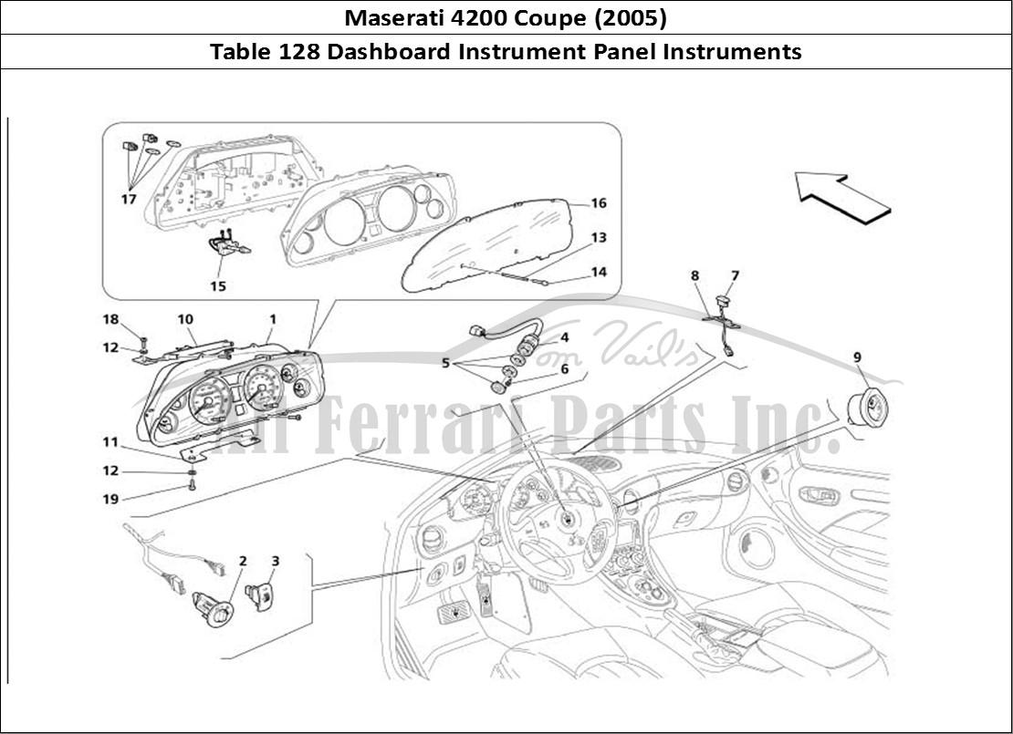 Buy Original Maserati Coupe 128 Dashboard