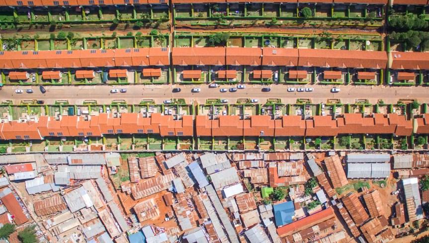 Ungleiche Städte—Urbane Probleme auf diesem Planeten