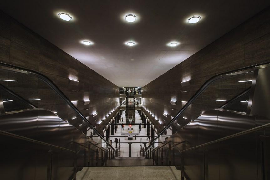 Impressionen aus Berlin: Die neue U5