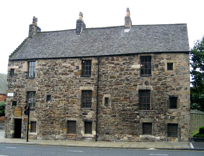 Oldest House in Glasgow, Scotland. Photo by Ferrell Jenkins