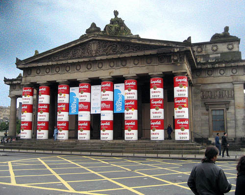 National Galleries of Scotland, Warhol Exhibition. Photo by Ferrell Jenkins.