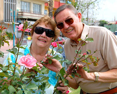 Ferrell and Elizabeth at Tarsus in Cilicia