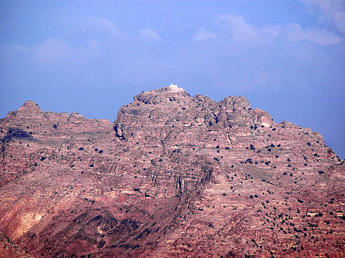 Mount Hor near Petra in Jordan. Photo by Ferrell Jenkins.