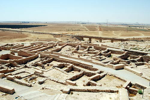 View of Excavation at Tel Be'er Sheva. Photo by Ferrell Jenkins.