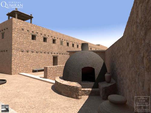 Qumran Potters Quarter. UCLA Qumran Visualization Project.