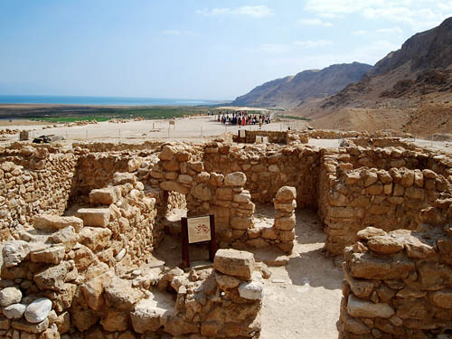 View of proposed study room at Qumran. View NE. Photo by Ferrell Jenkins.