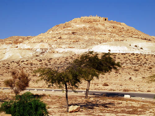The Nabataean site of Avdat in the Negev. Photo by Ferrell Jenkins.