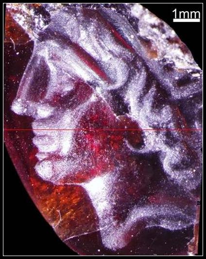 Alexander carving from Tel Dor