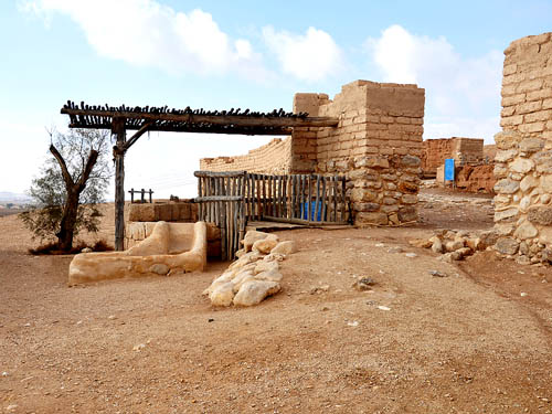 The outer gate at Beersheba. Photo by Ferrell Jenkins 2009.