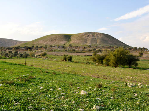A suggested site for Abel-Meholah, home of Elisha. Photo by Ferrell Jenkins 2009.