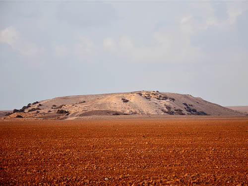 Tel Shera, possible site of Ziklag. Photo by Ferrell Jenkins 2009.