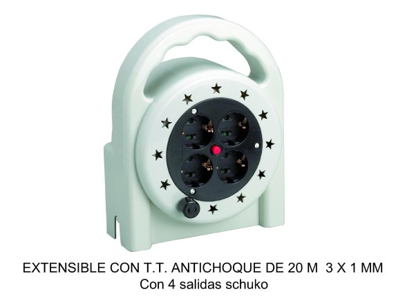 EXTENSIBLE 20MTRS ANTICHOQUE