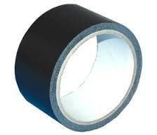 cinta americana negra 50mm 10 mtrs