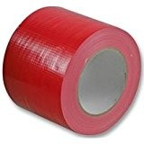 cinta americana roja 50mm 10mtrs