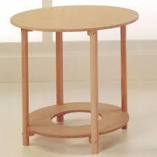 mesa redonda 80cm madera