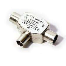adaptador t antena m-m-h metalico