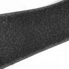 velcro negro 50mm rizo coser