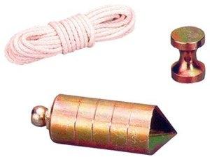 plomada nuez hierro c/cuerda 700gr
