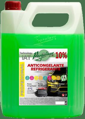 anticongelante verde 10%