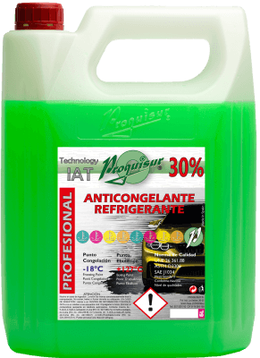 anticongelante verde 30%