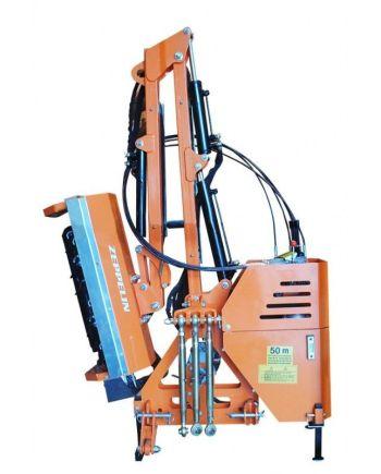 trituradora telescópica lateral
