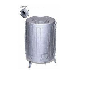 estufa leña aluminio n5