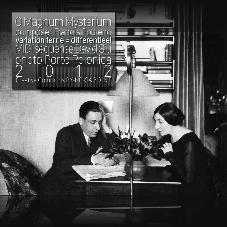 O Magnum Mysterium soundtrack cover