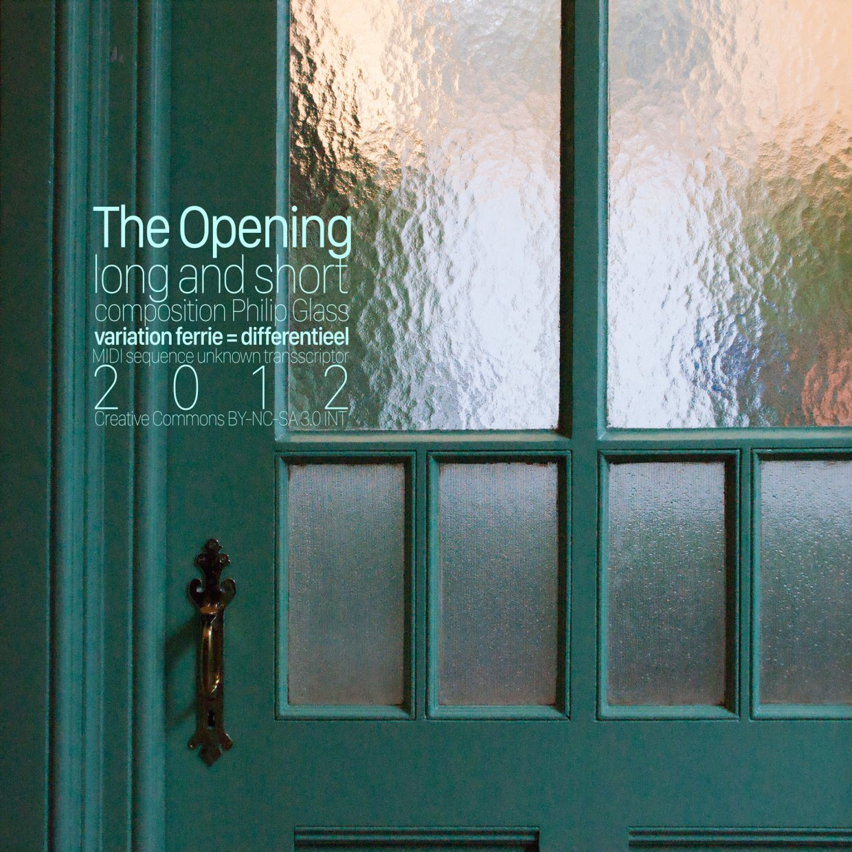 The Opening Long Short cover