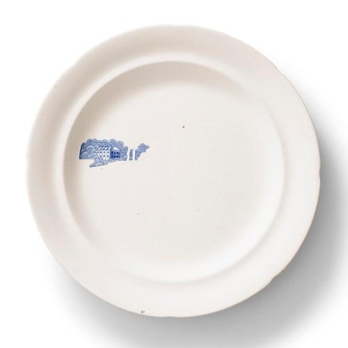 "Caroline Slotte, ""Far Away Places Series (2)"" 2014, reworked, second-hand ceramics, 10""."