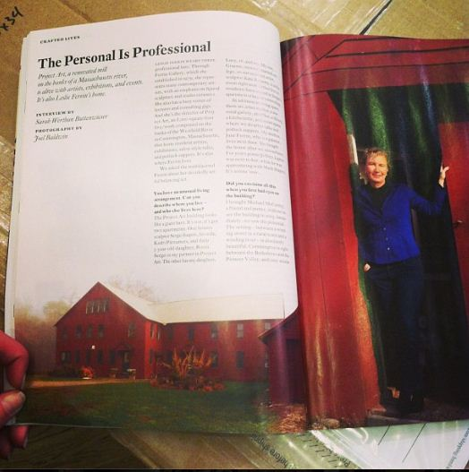 The Personal is Professional by Sarah Buttenweiser in American Craft magazine